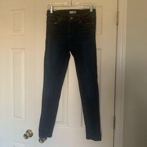Ann Taylor Loft skinny crop jeans